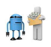 Automatic payment Stock Photo