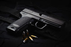 An automatic pistol Stock Images