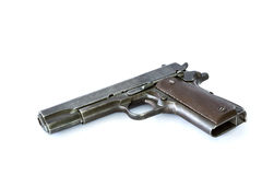 Automatic pistol Stock Photo