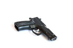 Automatic pistol Royalty Free Stock Image