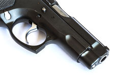 Automatic pistol Royalty Free Stock Photos