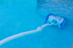 Automatic Pool Cleaning Device. An image of a pool cleaning device stock images