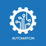 Automatic  process icon Royalty Free Stock Photo