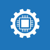 Automatic  process icon Stock Images