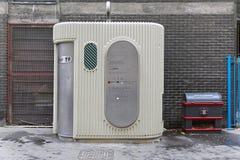 Automatic public toilet Stock Image