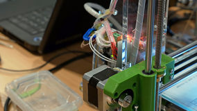 Automatic robotics mechanical equipment laboratory Royalty Free Stock Photo