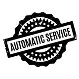 Automatic Service rubber stamp Stock Photography