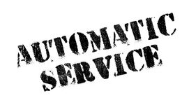 Automatic Service rubber stamp Royalty Free Stock Images