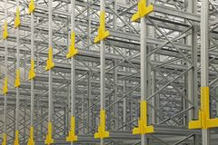 Automatic Shelving System Royalty Free Stock Photography