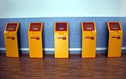 Automatic slot-machines. Stock Photos