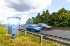Automatic speed camera Stock Photography