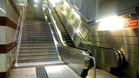 Automatic stairway Royalty Free Stock Image