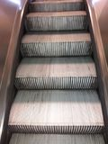 Automatic stairs Royalty Free Stock Images