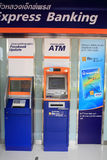 Automatic Teller Machine (ATM) of Bangkokbank Royalty Free Stock Photos