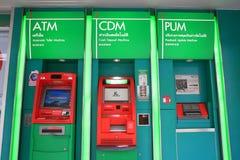 Automatic Teller Machine (ATM) of Kasikornbank Royalty Free Stock Photos