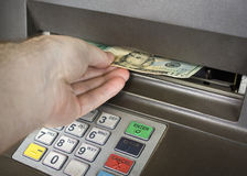 Automatic teller Stock Images