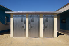 Automatic toilets Royalty Free Stock Photography