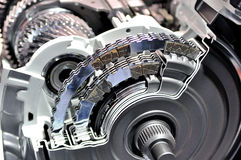 Automatic transmission. Cross section of an automatic transmission Royalty Free Stock Image
