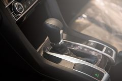 Automatic transmission gear of car Royalty Free Stock Image