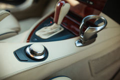 Automatic transmission gear shift Royalty Free Stock Images