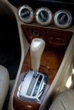 Automatic transmission gear shift. Car interior. Automatic transmission gear shift Stock Images