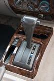 Automatic transmission gear shift. Car interior. Automatic transmission gear shift Stock Image