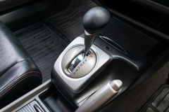Automatic transmission gear shift. Royalty Free Stock Photos