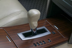 Automatic transmission gear shift. Stock Photography