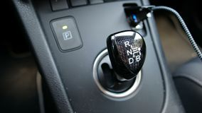 Automatic transmission hybrid car CVT continuously variable transmission stock video