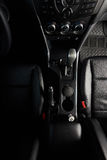 Automatic transmission in pickup Royalty Free Stock Photo