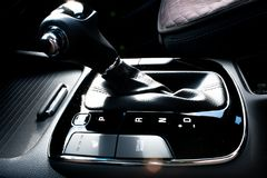Automatic transmission shift knob stock photography