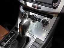 Automatic Transmission,Super Sport Car Interior Royalty Free Stock Image