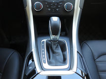 Automatic Transmission,Super Sport Car Interior Stock Photos