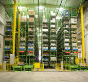 Automatic warehouse Royalty Free Stock Images