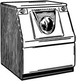 Automatic Washer 2 Royalty Free Stock Photos