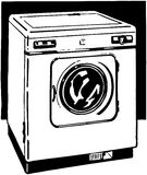 Automatic Washer Royalty Free Stock Photos