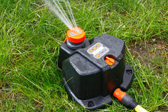 Automatic watering installation Royalty Free Stock Photography