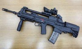 Automatic weapon. Modern machine gun, automatic weapon Royalty Free Stock Photos