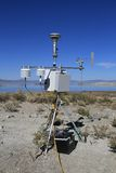 USA, California: Automatic Weather Station Stock Photos