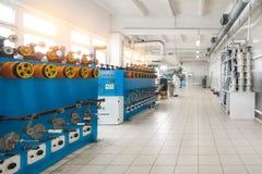 Automatic winding machine. Stock Photography