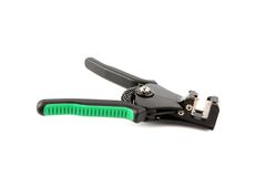 Automatic wire strippers Stock Image