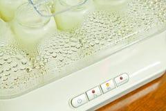 Automatic yogurt maker Stock Photo