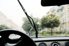Automatico pioggia-spazzoli Immagine Stock