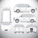 automatics 图形设计的模板 皇族释放例证