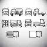automatics 图形设计的模板 向量例证