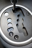 Automatikgetriebeauto Stockbild