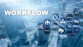 Automation of business workflows. Work process. Reliability and repeatability in technology and financial processes. Automation of business workflows. Work stock photos