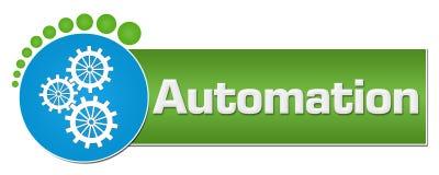 Automation Green Blue Circular Dots royalty free illustration