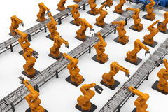 Automation industry concept royalty free stock photos