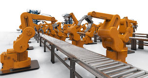 Automation industry concept Stock Images